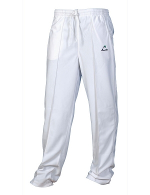 Henselite Bowls Unisex Sports Trousers White