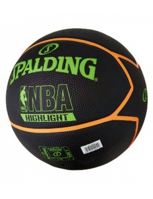 Spalding NBA Highlight Basketball Black/Green (Clearance)