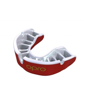 Opro Junior Gold Competition Level Mouthguard Red