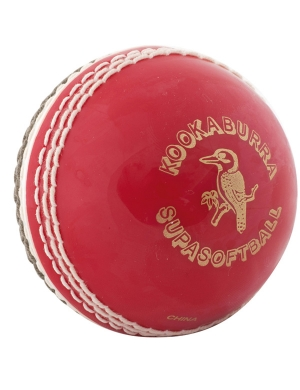 Kookaburra Super Coach Super Softaball Red/White Mens
