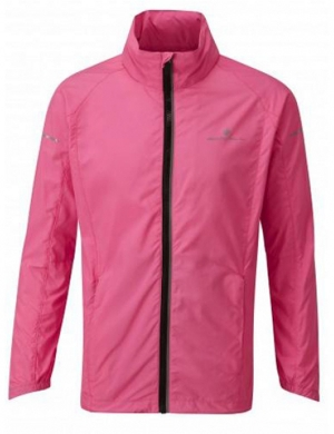 Ronhill Junior Pursuit Jacket Fluo Pink