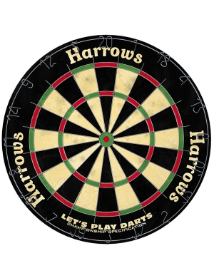 Let's Play Darts Dart Board