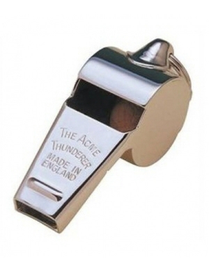 Acme Thunderer Metal Referee Whistle No. 59.5