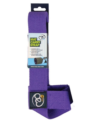Fitness-Mad Yoga Mat Carry Strap - Purple