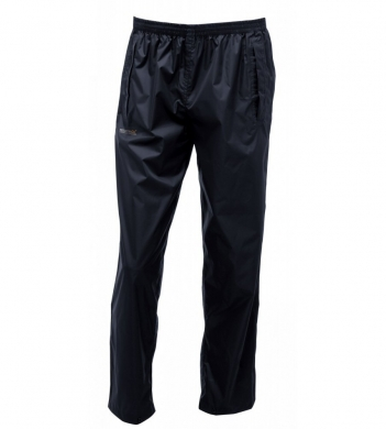 Men's Pack-It Waterproof Overtrousers Black (LAST CHANCE TO BUY)