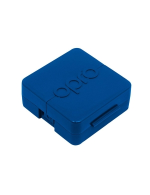 Opro Antimicrobial Mouthguard Case Blue
