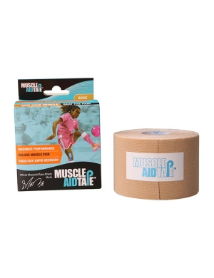 Live on the Edge Muscle Aid Tape Beige