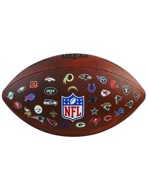 Wilson NFL 32 Teams Logo American Football