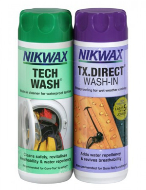 Nikwax Tech Wash/ TX.Direct© Wash-In Twin Pack 300ml