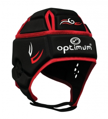 Optimum Headguard Tribal Red