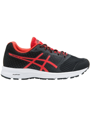 Asics Gel-Patriot 9 GS Black/Fiery Red/White