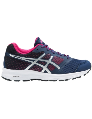 Asics Gel-Patriot 9 GS Indigo Blue/Silver/Fuchsia Purple