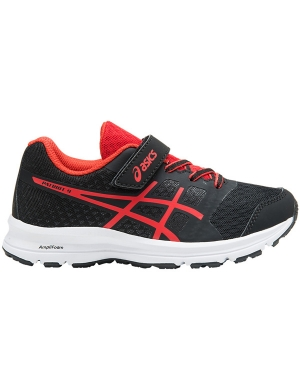 Asics Gel-Patriot 9 PS Velcro Black/Fiery Red/White