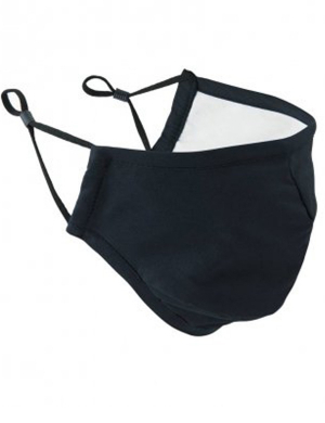 Premier Washable 3-Layer Face Mask PR796 - Black