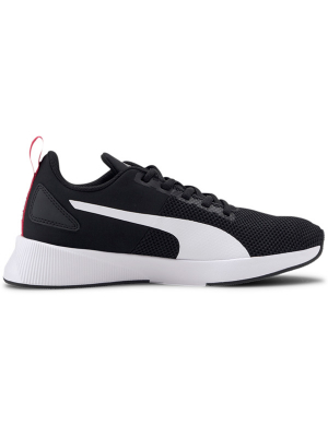 Puma Flyer Runner Jnr Black/White