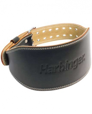 Harbinger Weight Lifting Belt Padded Leather
