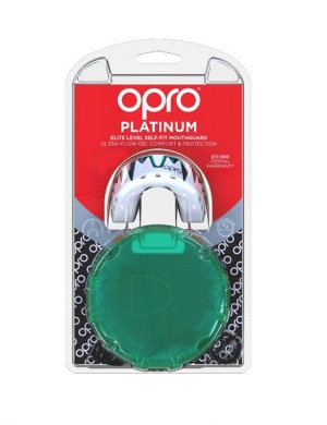 Opro Platinum Elite Level Mouthguard Fangz Mint Green