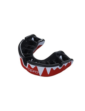 Opro Platinum Elite Level Mouthguard Fangz Red
