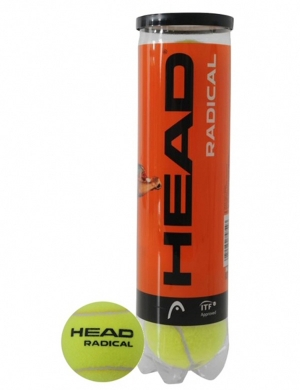 Head Radical Tennis Balls 4pk