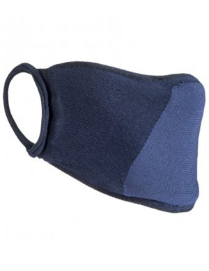 Result Anti-Bacterial Face Cover RV009 Navy 1pk