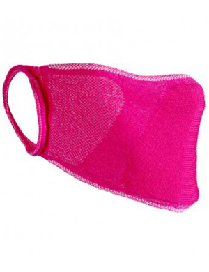 Result Anti-Bacterial Face Cover RV009 Pink 1pk
