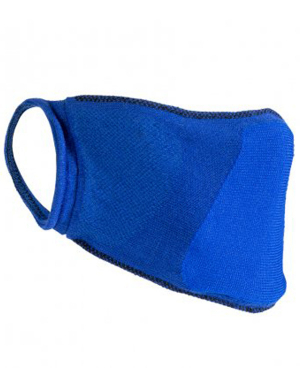 Result Anti-Bacterial Face Cover RV009 Royal Blue 1pk