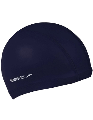 Speedo Senior Polyester Swim Cap Navy