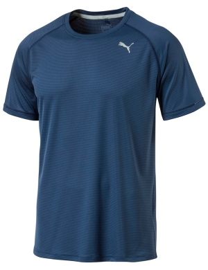 Puma Core Run Short Sleeve Tee Sargasso Sea