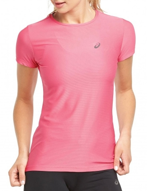 Asics Short Sleeve Top Rose