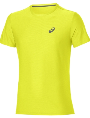 Asics Short Sleeve Top Sulphur Spring