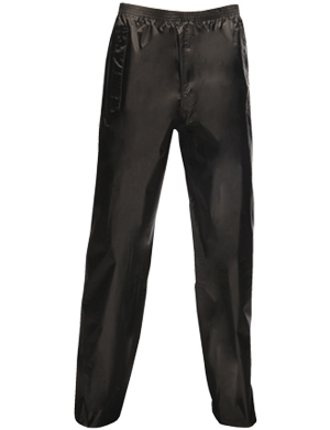 Regatta Adult Stormbreak Waterproof Overtrousers Black