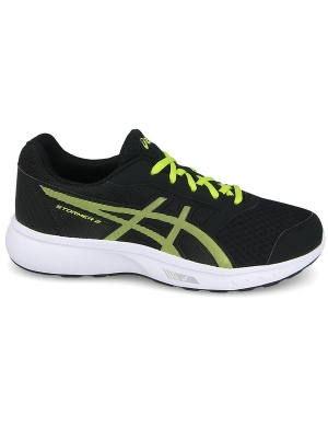Asics Stormer 2 GS Black/Neon Lime/White
