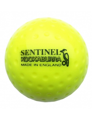 Kookaburra Sentinel Dimple Match Hockey Ball Yellow