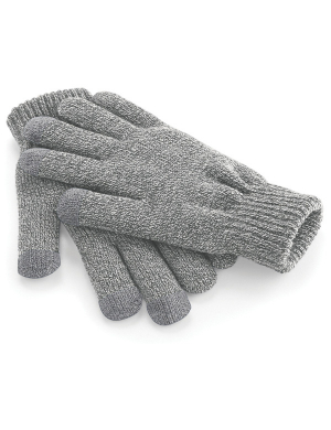 Beechfield TouchScreen Smart Gloves Grey