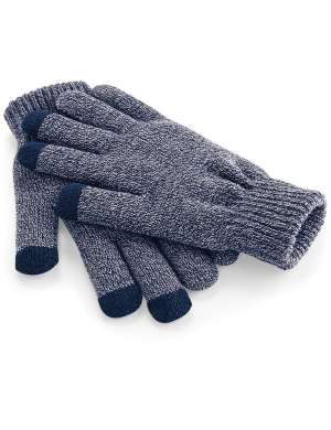 Beechfield TouchScreen Smart Gloves Navy