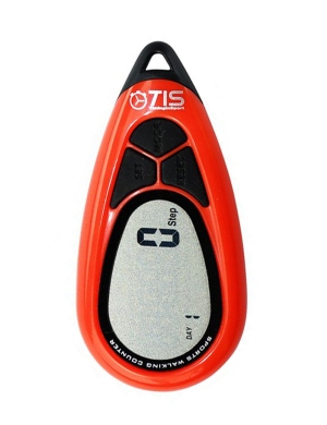 Timing In Sport Pro 077 3D Pedometer Red