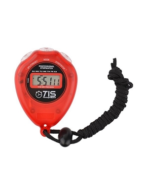 Timing In Sport Pro 018 Stopwatch Red