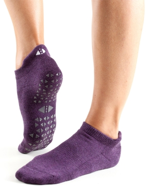 Fitness-Mad Tavi Noir Savvy Grip Socks Lavender