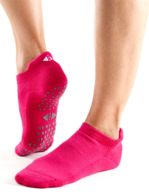 Fitness-Mad Tavi Noir Savvy Grip Socks Magenta
