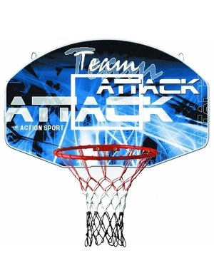 Sure Shot Team Attack Basketball Ring & Backboard