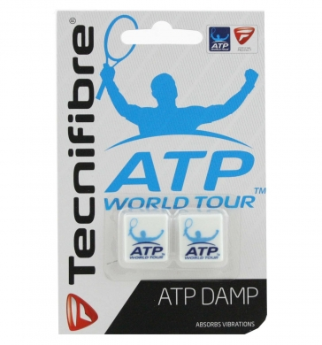 Tecnifibre ATP World Tour Dampeners White 2pk