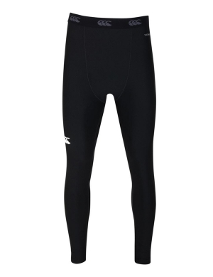 Canterbury ThermoReg Baselayer Leggings Boys & Mens Black