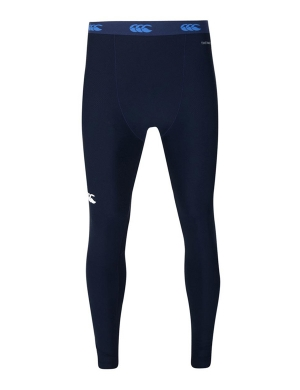 Canterbury ThermoReg Baselayer Leggings Senior Navy