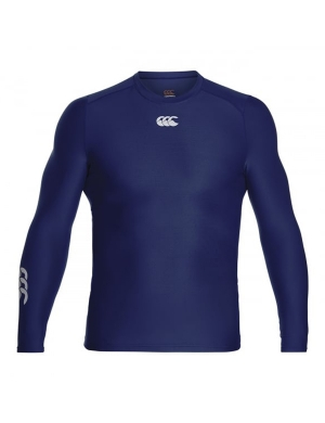 Canterbury ThermoReg Baselayer Top Senior Navy