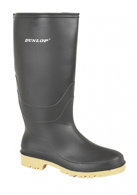 Dunlop Youth Wellington Boots Black W028A
