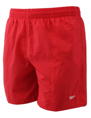Speedo Solid Leisure Swim Short Red