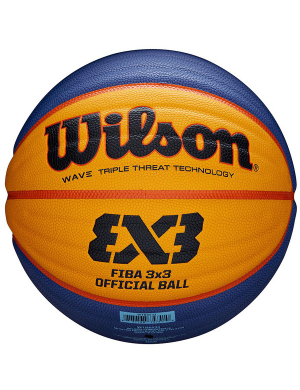 Wilson FIBA 3x3 Official Indoor/Outdoor Game Ball