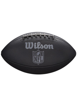 Wilson NFL Jet Black American Football Junior