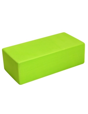 Fitness-Mad Hi-Density Yoga Brick Lime Green