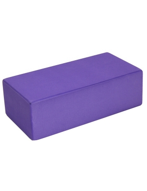 Fitness-Mad Hi-Density Yoga Brick - Purple
